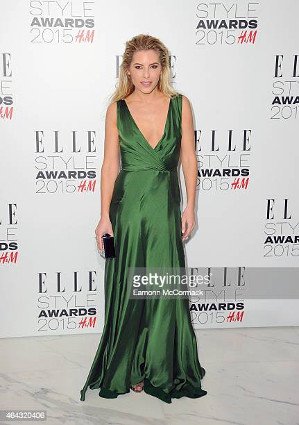 Mollie King attends the Elle Style Awards 2015 at Sky Garden @ The Walkie Talkie Tower on February 24 2015 in London England