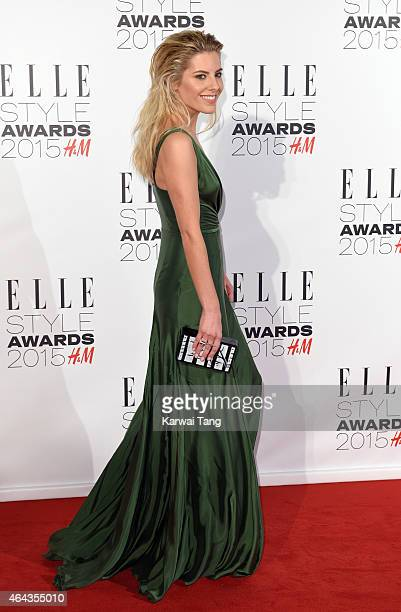 Mollie King attends the Elle Style Awards 2015 at Sky Garden @ The Walkie Talkie Tower on February 24 2015 in London UK