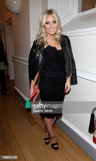 Mollie King attends the Esquire Summer Party in association with Stella Artois at Somerset House on May 29 2013 in London England