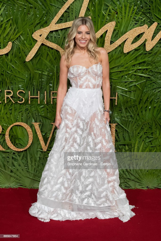 Mollie King attends the Fashion Awards 2017 In Partnership With Swarovski at Royal Albert Hall on December 4, 2017 in London, England.