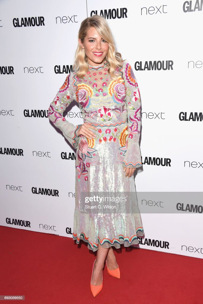 Mollie King attends the Glamour Women of The Year awards 2017 at Berkeley Square Gardens on June 6, 2017 in London, England.