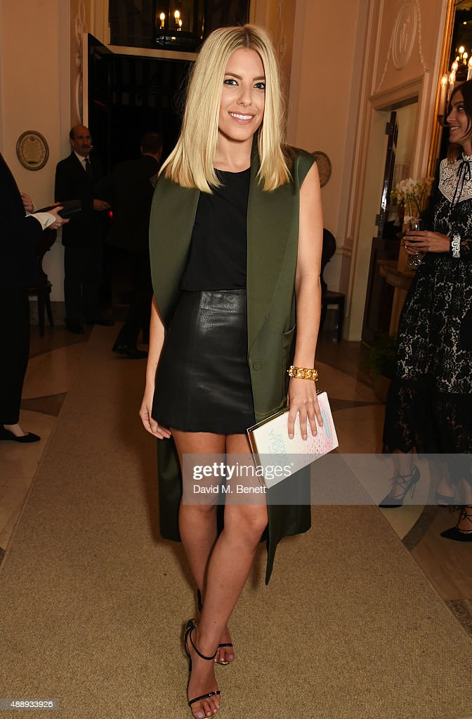 Mollie King attends the London Fashion Week party hosted by Ambassador Matthew Barzun and Mrs Brooke Brown Barzun with Alexandra Shulman, in association with J. Crew, at American Ambassadors Residence, Winfield House,Regents Park on September 18, 2015 in London, England.