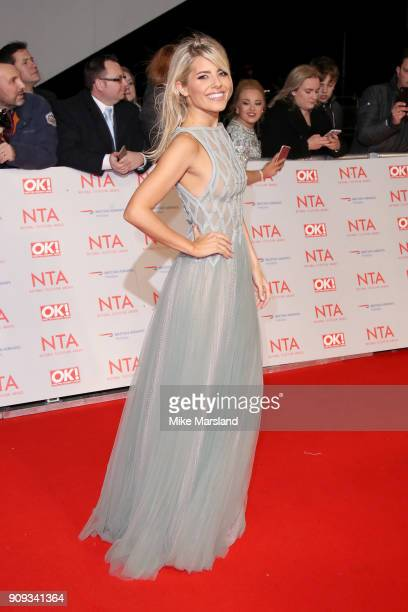 Mollie King attends the National Television Awards 2018 at The O2 Arena on January 23 2018 in London England