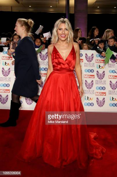 Mollie King attends the Pride of Britain Awards 2018 at The Grosvenor House Hotel on October 29 2018 in London England