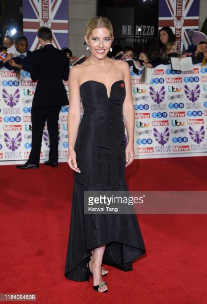 Mollie King attends the Pride Of Britain Awards 2019 at The Grosvenor House Hotel on October 28 2019 in London England