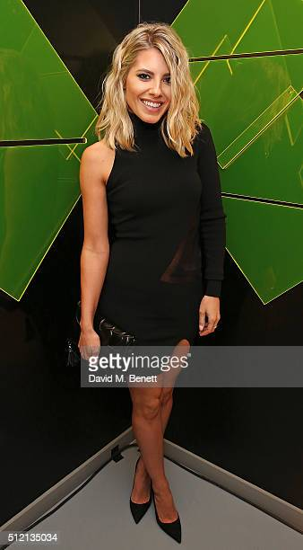 Mollie King attends the Universal Music BRIT Awards AfterParty 2016 in collaboration with Soho House and BACARDI on February 24 2016 in London England