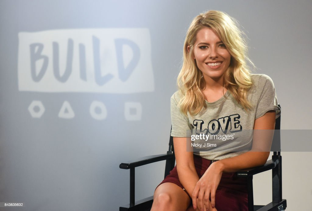 Mollie King during a BUILD series event at BUILD Studio London on September 7, 2017 in London, England.