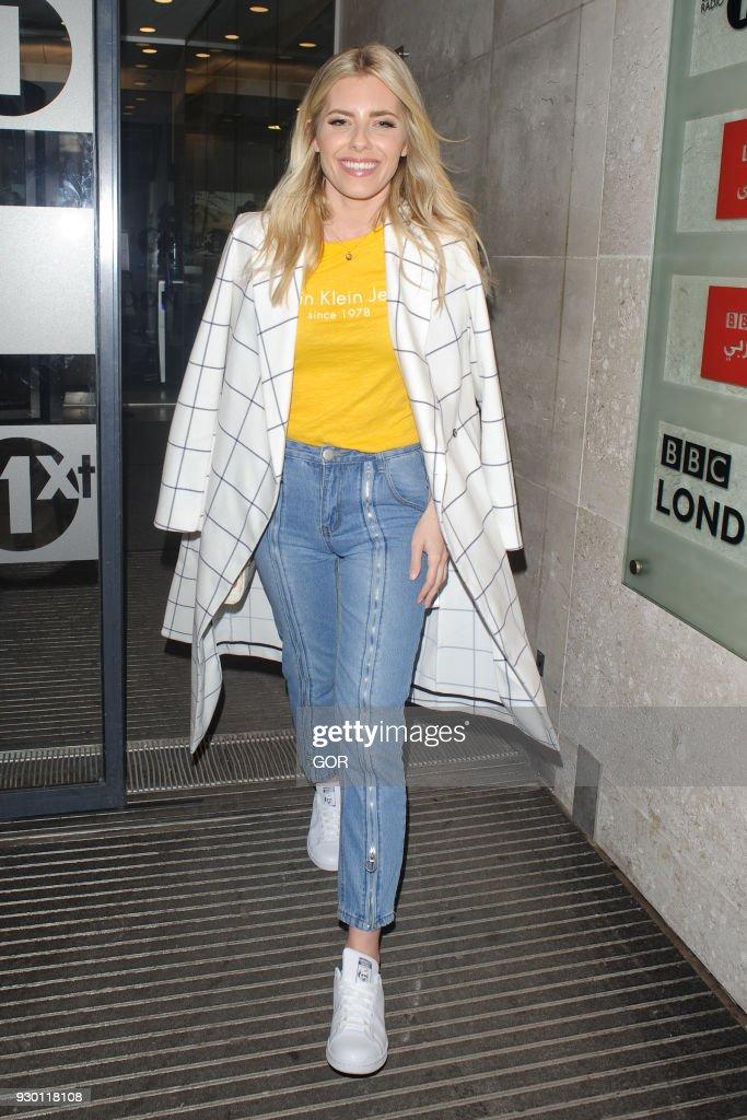 London Celebrity Sightings -  March 10, 2018