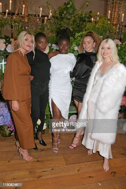 Mollie King Michaela Coel Clara Amfo Ella Eyre and Alice Chater celebrate The ELLE List in association with MAGNUM ice cream on June 19 2019 in...