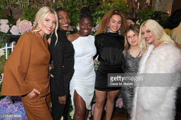 Mollie King Michaela Coel Clara Amfo Ella Eyre Kathleen Humberstone and Alice Chater celebrate The ELLE List in association with MAGNUM ice cream on...