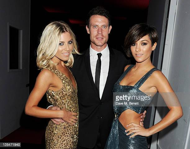 Mollie King Wayne Bridge and Frankie Sandford attend an after party celebrating Roberto Cavalli's new Sloane Street boutique at Battersea Power...