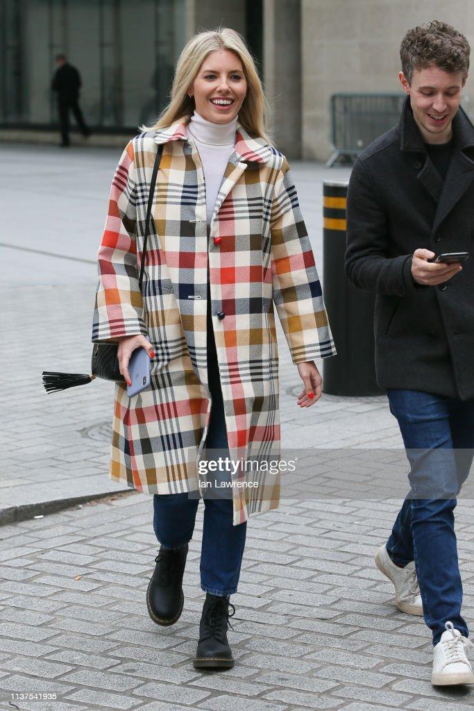 GBR: London Celebrity Sightings -  March 22, 2019