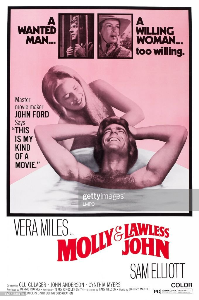 Molly And Lawless John, poster, US poster art, Vera Miles, Sam... News  Photo - Getty Images