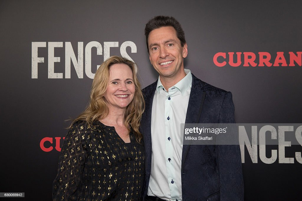 Molly and Scott Forstall arrive at the Premiere of 'Fences' at Curran Theatre on December 15, 2016 in San Francisco, California.