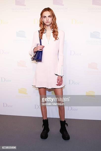 Molly Bair at the 2016 Guggenheim International Gala PreParty at Solomon R Guggenheim Museum on November 16 2016 in New York City