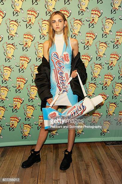 Molly Bair attends the Jeremy Scott x Google Launch Party on November 10, 2016 in New York City.