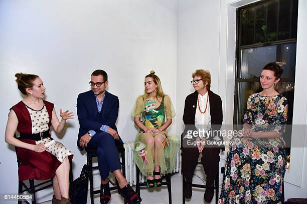Molly Beauchemin Sacha Walckhoff Chelsea Leyland Pat Jonas and Annie Novak attend the Garden Collage and Phaidon Press Host A Botany Salon on October...
