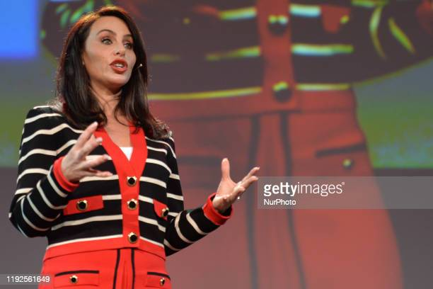 Molly Bloom, an American entrepreneur, former Poker Princess and bestselling author Of Mollys Game, seen at Pendulum Summit, World's Leading Business...