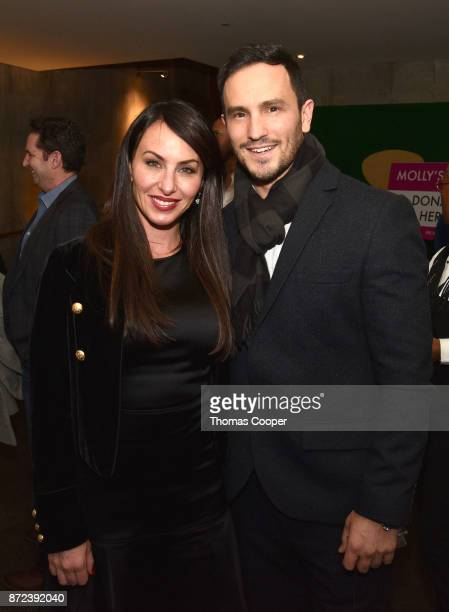 Molly Bloom and her brother and Founder of Wish of a Lifetime Jeremy Bloom attend a screening of 'Molly's Game' at the 40th Annual Denver Film...