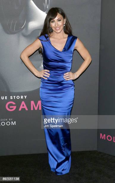 Molly Bloom attends the 'Molly's Game' New York premiere at AMC Loews Lincoln Square on December 13 2017 in New York City