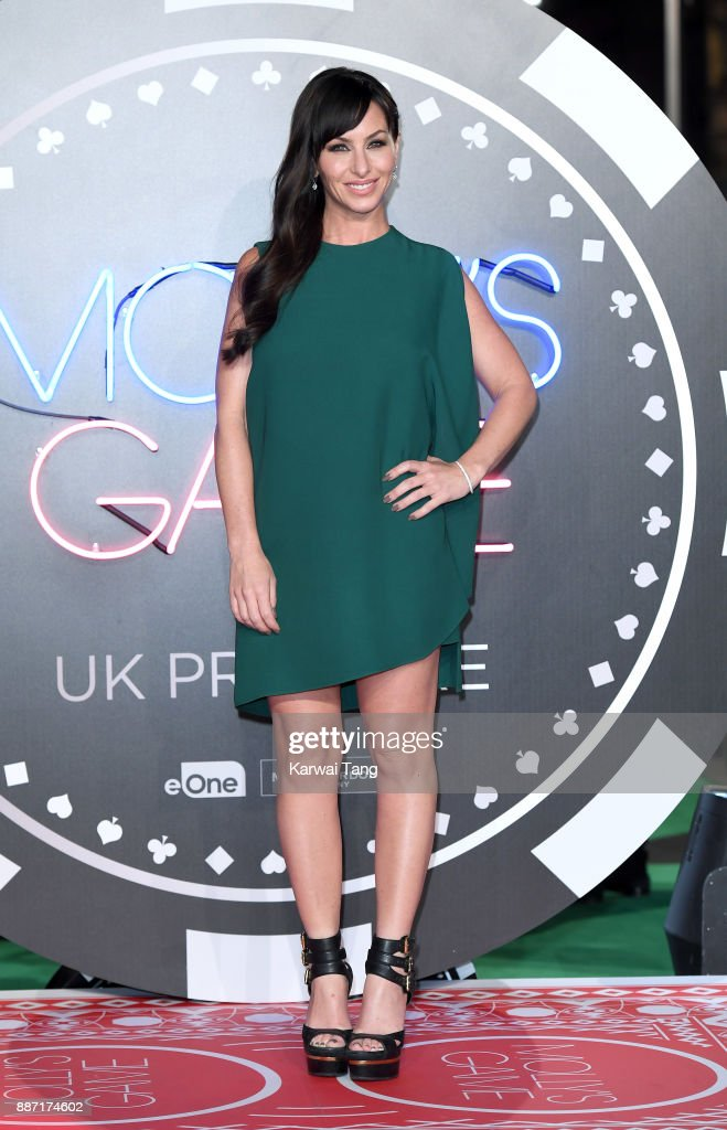 Molly Bloom attends the 'Molly's Game' UK premiere at Vue West End on December 6, 2017 in London, England.