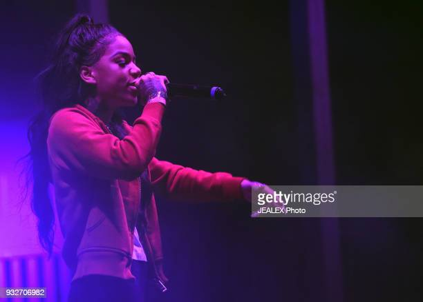 Molly Brazy performs onstage at ICM All Female Event during SXSW at The Belmont on March 15 2018 in Austin Texas