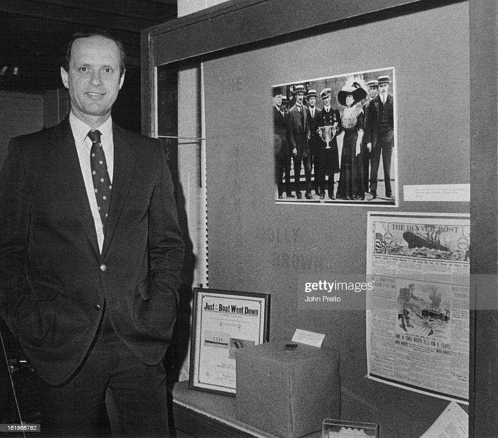 5-1986, 5/14/1986; Molly Brown Hose; Shot of Dr. Robert Ballard Leader of U.S.-French tem that disco : News Photo