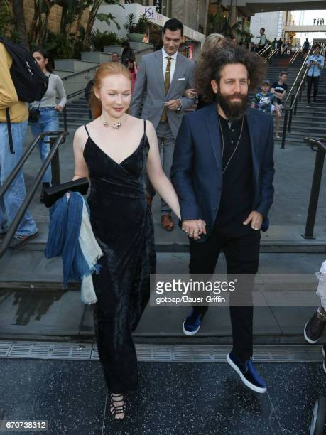 Molly C Quinn is seen on April 19 2017 in Los Angeles California