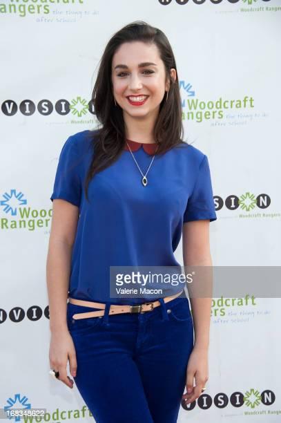 Molly Ephraim arrives at Kyra Sedgwick Hosts Woodcraft Rangers 90th Anniversary Gala at LA Plaza de Cultura y Artes on May 8 2013 in Los Angeles...