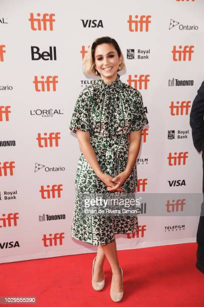 Molly Ephraim attends The Front Runner premiere at Ryerson Theatre on September 8 2018 in Toronto Canada