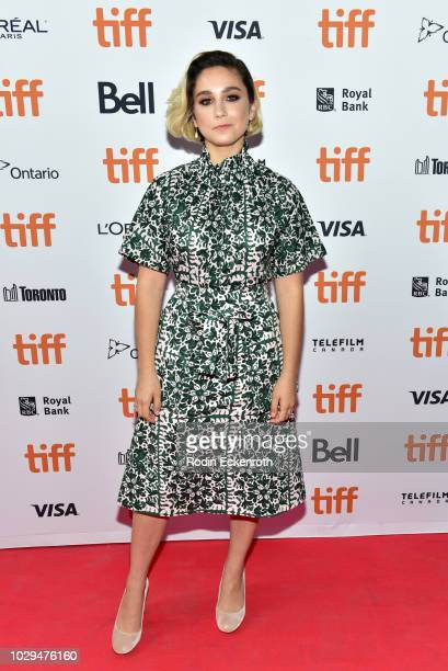 Molly Ephraim attends the The Front Runner premiere during 2018 Toronto International Film Festival at Ryerson Theatre on September 8 2018 in Toronto...