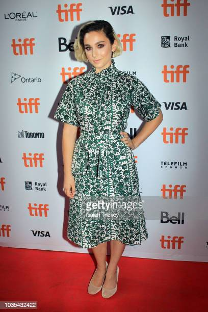 Molly Ephraim attends the 'The Front Runner' premiere during 2018 Toronto International Film Festival at Ryerson Theatre on September 8 2018 in...