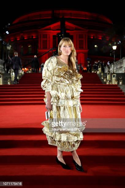 Molly Goddard arrives at The Fashion Awards 2018 In Partnership With Swarovski at Royal Albert Hall on December 10 2018 in London England