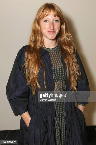 Molly Goddard attends as the BFC/Vogue Designer Fashion Fund celebrates its renewed partnership with JDcom Inc China's largest retailer with a...