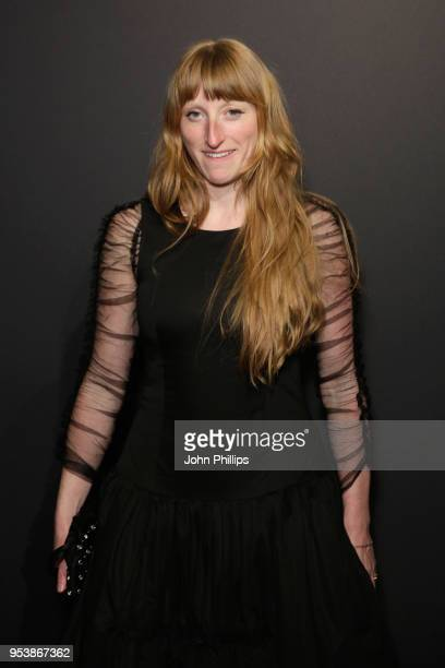 Molly Goddard attends the British Fashion Council Vogue Party at The Mandrake Hotel on May 2 2018 in London England