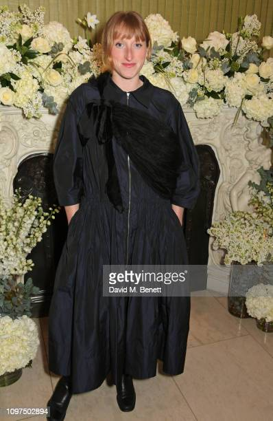 Molly Goddard attends the British Vogue and Tiffany Co Celebrate Fashion and Film Party at Annabel's on February 10 2019 in London England