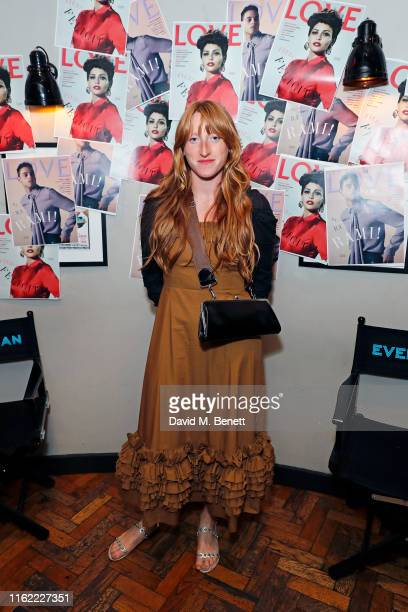 Molly Goddard attends the #MOVINGLOVE screening hosted by Derek Blasberg Katie Grand at Screen on the Green on July 15 2019 in London England