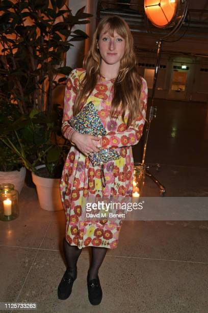 Molly Goddard attends the NETAPORTER Fashion Family Dinner at Wild By Tart on February 18 2019 in London England