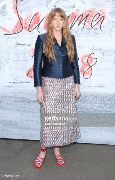 Molly Goddard attends The Serpentine Summer Party at The Serpentine Gallery on June 19 2018 in London England