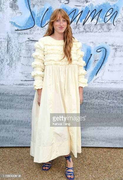 Molly Goddard attends The Summer Party 2019 Presented By Serpentine Galleries And Chanel at The Serpentine Gallery on June 25 2019 in London England