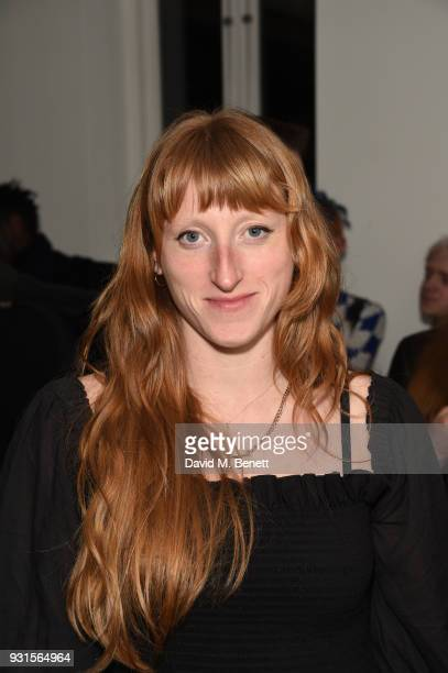Molly Goddard attends Thom Browne In Conversation with Sarabande The Lee Alexander McQueen Foundation on March 13 2018 in London England