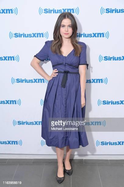 Molly Gordon visits SiriusXM Studios on July 24 2019 in New York City