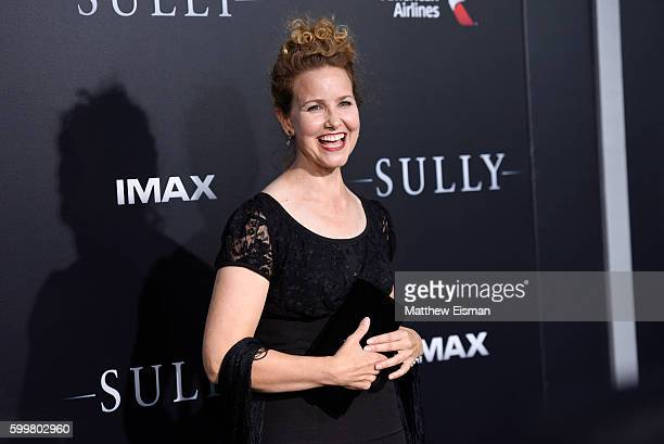 Molly Hagan attends the Sully New York Premiere at Alice Tully Hall on September 6 2016 in New York City