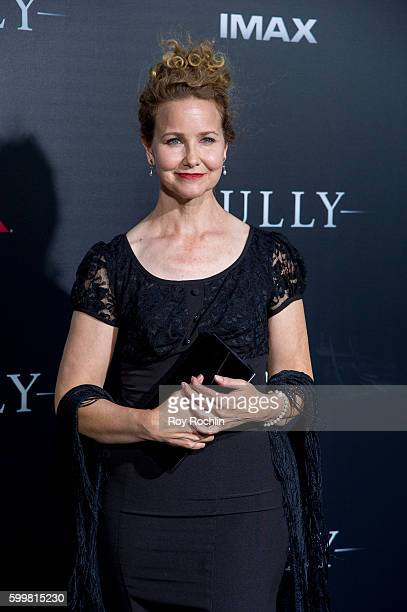 Molly Hagan attends the Sully New York premiere at Alice Tully Hall Lincoln Center on September 6 2016 in New York City