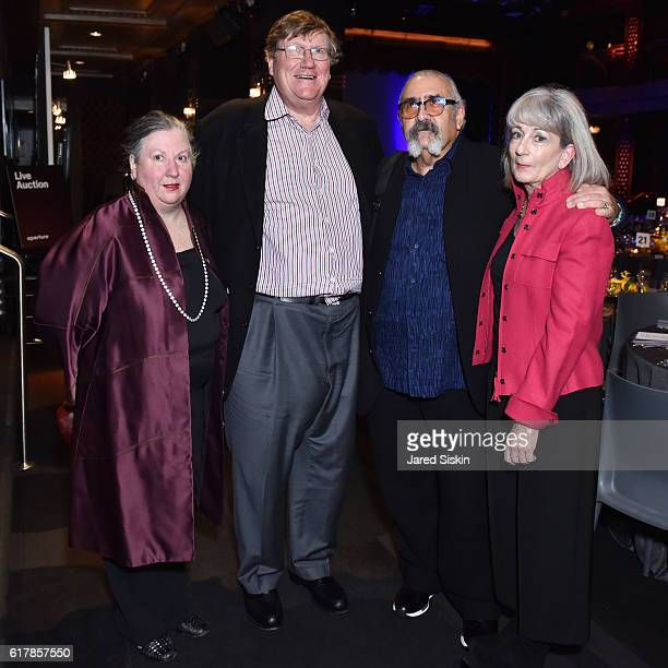 Molly Heines Tom Moloney Stewart Cooper and Becky Besson attend the Aperture Foundation 2016 Fall Benefit at The Edison Ballroom on October 24 2016...