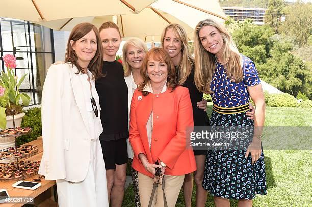 Molly Isaksen Sures Stella McCartney Astrid Heger Linda Rubin Eve Gerber and Alison Petrocelli attend HEART Brunch featuring Stella McCartney on...