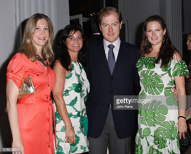 Molly Jackson, Kristen Cachel, Tom Henry and Sessa-Von-Richthofen attend the Hollywould Whitehall Society Charity Gala at The Flagler Museum on...