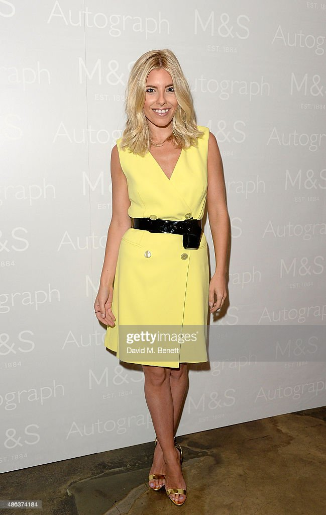 Molly King attends the Marks & Spencer party to launch Oliver Cheshire as the Face of Autograph Menswear on September 3, 2015 in London, England.