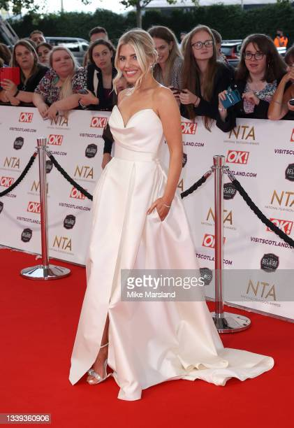 Molly King attends the National Television Awards 2021 at The O2 Arena on September 09, 2021 in London, England.