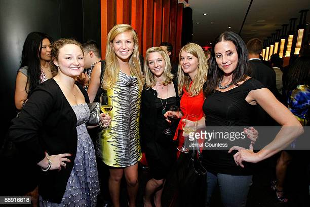 Molly Louis Jackie Hulbod Susan Louis Karin Hoesl and Leslie Judge attend the launch of the New Elementum Watch Collection by SUUNTO with special...